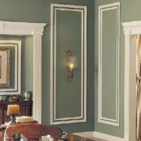 Ornamental Moulding - Mouldings, Mantels, Shelves & Wainscotting